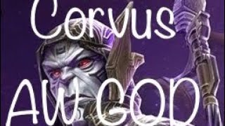 Corvus Demolishing AW (5/65 Medusa soloed in 58 Sec) | Marvel Contest of champions