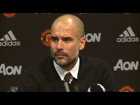 Manchester United 1-0 Manchester City - Pep Guardiola Full Post Match Press Conference - EFL Cup