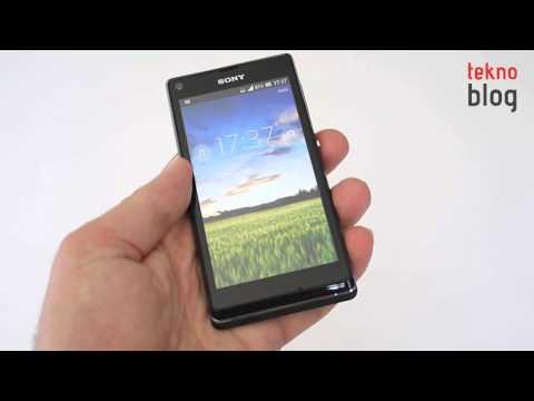 Sony Xperia L İncelemesi