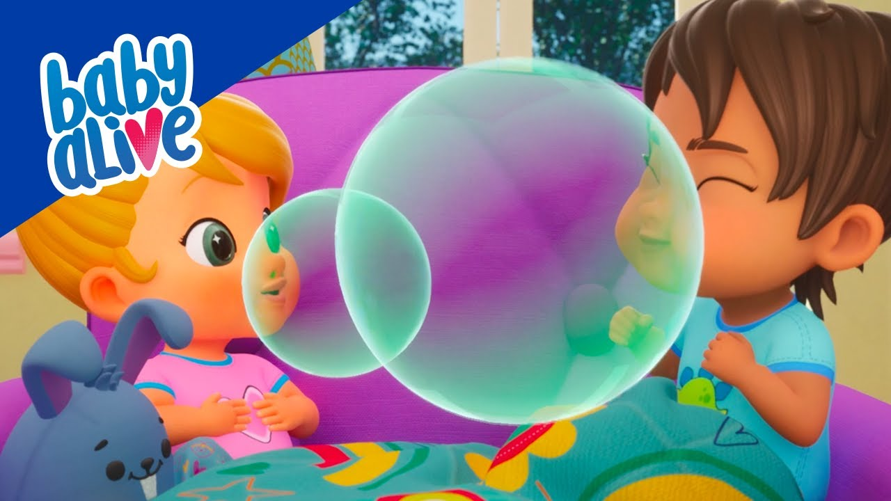 👶🏼 Baby Alive 👶🏾 Making Bubbles 💧 BRAND NEW SHOW 👶🏻 Kids Videos and Baby Cartoons 💕