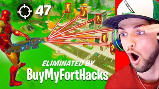 *NEW* HACKERS are OP in Fortnite! (Aimbot, Wallhack + Banhammer)