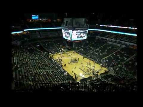 Hockey to hoops time-lapse at Time Warner Cable Arena, Charlotte, N.C.