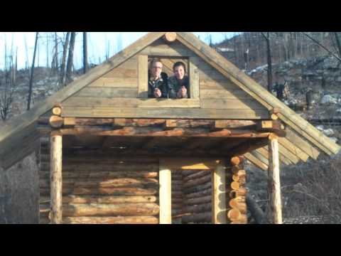 Survivor Dude How To Build A Log Cabin Better Sound
