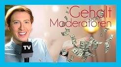 Wie viel Geld verdienen Moderatoren? | Gehälter bei ARD, ZDF, RTL, NDR, SWR, KiKa, Pro7 & Co. | Marc