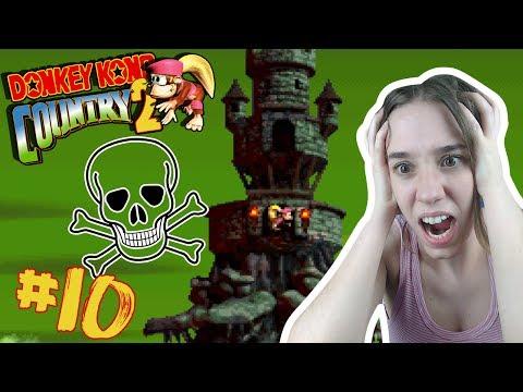 DESESPERACIÓN: Donkey Kong Country 2 Snes 102% Gameplay Español Ep 10