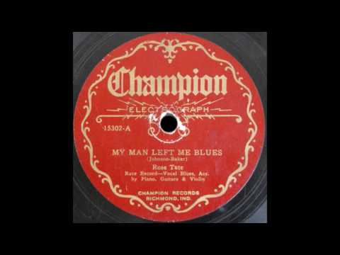 My Man Left Me Blues (Tate)