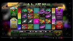 Alien attack - Online Slot from Castle Casino