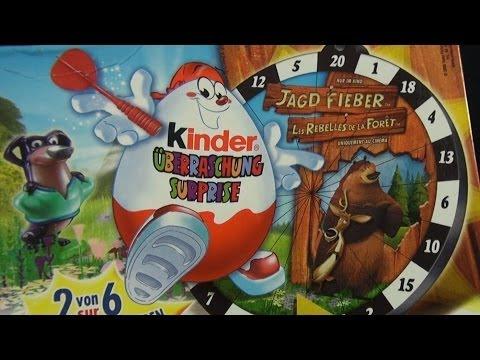 Kinder Überraschung - Jagdfieber (Open Season) (Les Rebelles De La Foret) (Kinder Surprise) poster