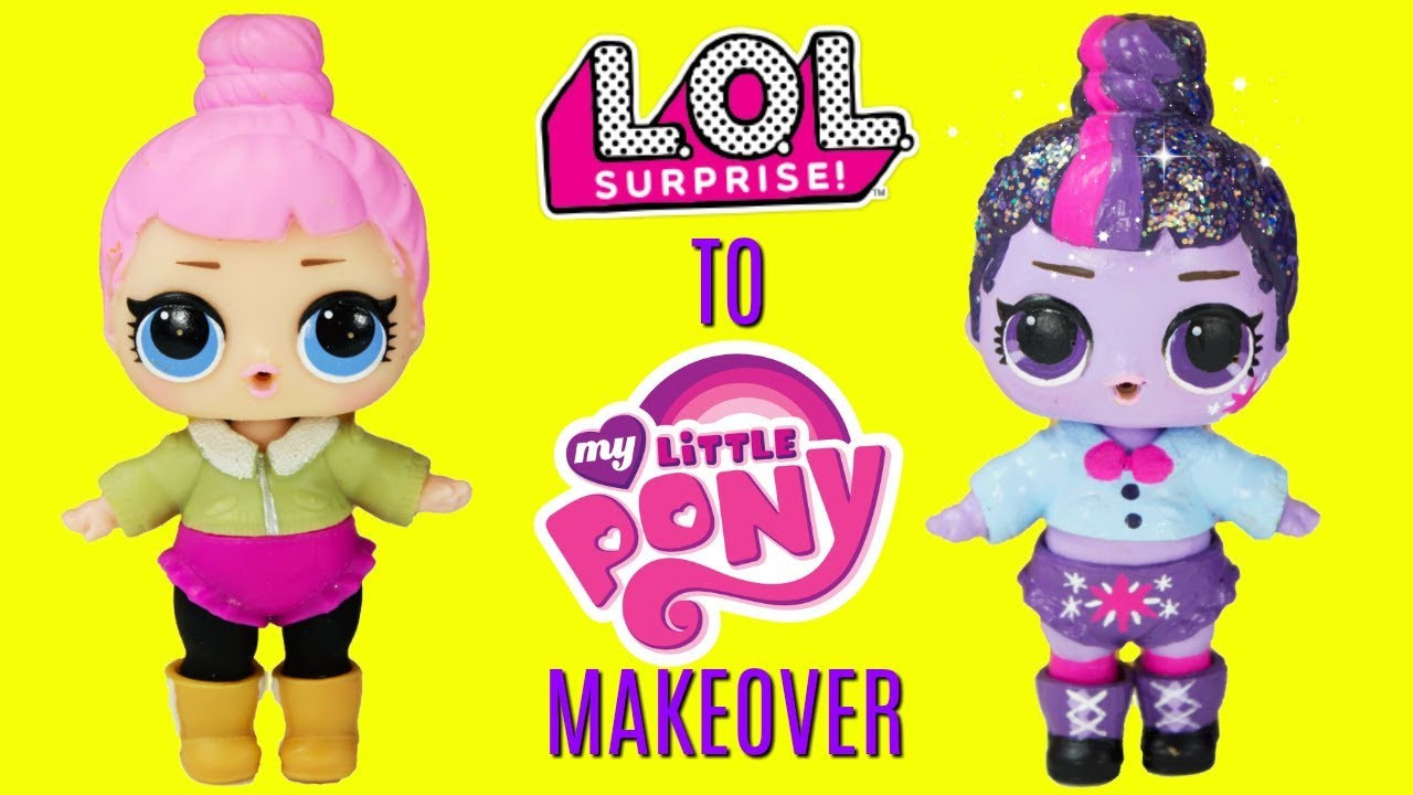 LOL Surprise Doll Little Sister Lil Cozy Babe Baby Doll Girl/'s Gift