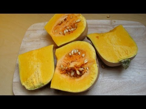 Butternut Pumpkin Squash [Cucurbita moschata - Doubeurre]