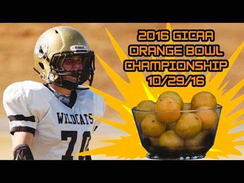 Flint River Academy C-Team Wildcats VS Young American Christian – ORANGE BOWL GICAA CHAMPIONSHIP