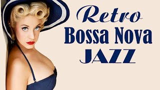Retro Bossa Nova & Jazz Music - Summer Instrumental Happy Music for Studying, Sleep, Work