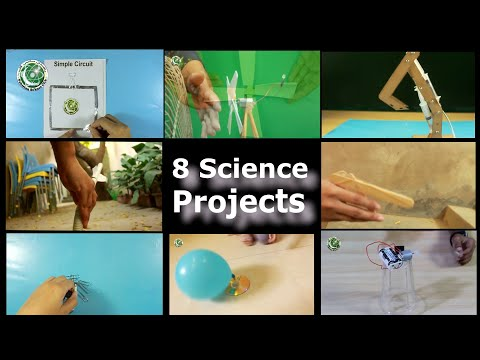 8 Cool Science Projects and  Activities for School kids