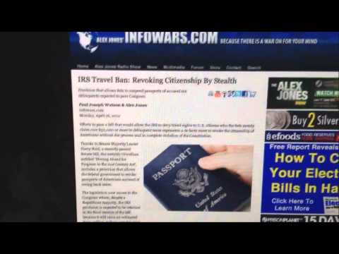 IRS TO Revoke Citizenship RED ALERT!!