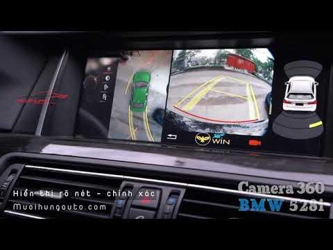 Camera 360 trên xe BMW 528i - thêm an toàn cho xe