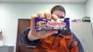 Supreme Protein Bar Review: Pb&j