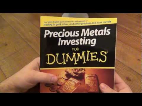 Book Review : Precious Metals Investing For Dummies