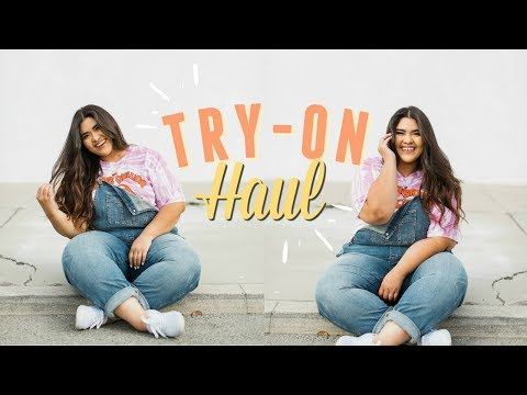 SPRING PLUS SIZE TRY ON HAUL! Forever 21+, Torrid, And Rue21🌻✨
