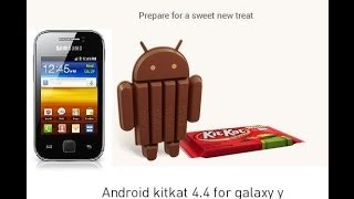 How To Install Android 4.4 KitKat in Galaxy Y GT-S5360