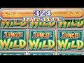 BIG WIN - Jungle Wild Slot Machine Bonus - 1 Line Method!!
