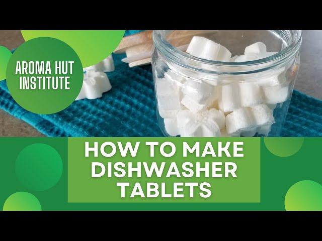 DIY Dishwasher Tablets (PODS)