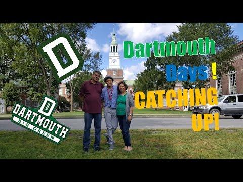 Dartmouth Days: Episode 2: Catching Up!