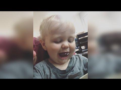 JESSA DUGGAR posts Henry creating Drool Bubbles Video : So cute & funny
