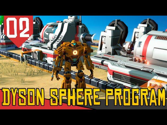 Poluição+Energia = PROSPERIDADE - Dyson Sphere Program #02 [Série Gameplay PT-BR]