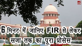 Process of FIR, Charge sheet, Trial, Decision, Appeal & Mercy petition | By Ishan [Hindi]