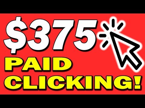 Earn $375 in 15 MINS TODAY! - Make Money Online 2019 With This EASY Click & Earn Method!