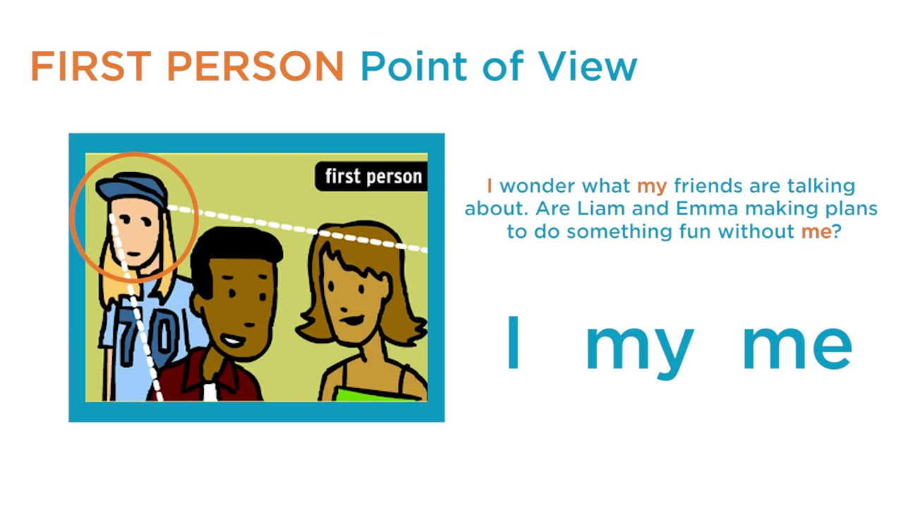 1st and 3rd person point of view definition