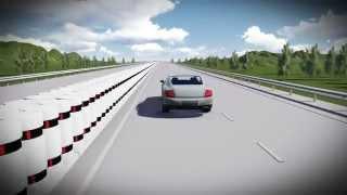 видео Дорожные работы: технология строительства дорог из преднапряженных железобетонных плит