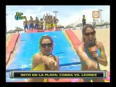 Esto es Guerra: Reto en la playa (Globos) - 15/02/2013