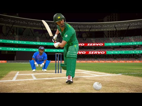 India vs Pakistan ODI Match T10- Don Bradman Cricket 17