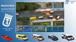 Madrid Mod - Emergency 4. Gameplay OFICIAL #1.