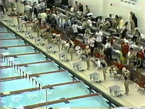 Nebraska vs Missouri Swimming 1990 v9