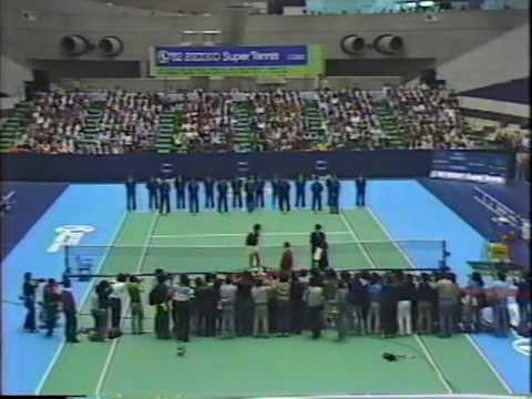 1982 Seiko Super Tennis F McEnroe vs McNamara