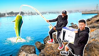 Catch The Biggest Fish Win Playstation 5 Challenge!