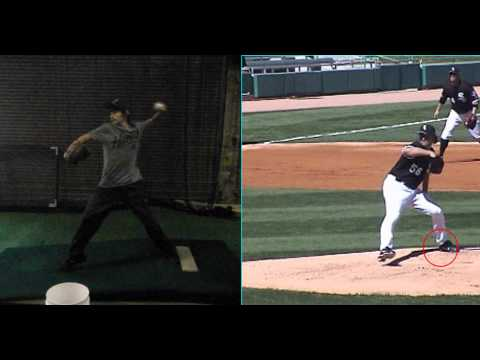 Frank Dixon Video Analysis - Elite Baseball Training, U of Iowa Pitching Camp