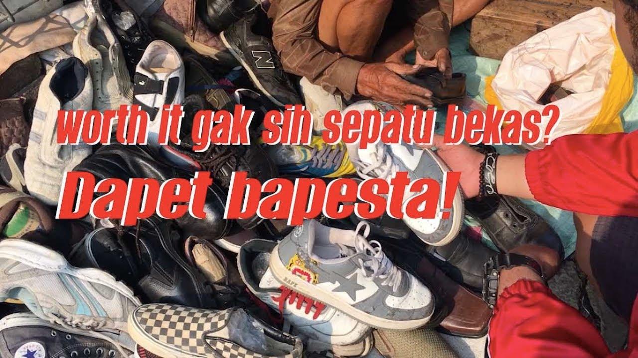 Baju Dan Sneakers Bekas Di Jakarta Hunting Sepatu Bekas