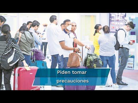Ssa emite aviso preventivo de viajes internacionales por pandemia del Covid-19