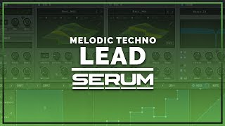 How To Make A Melodic Techno Lead In Serum (Stephan Bodzin, Jeremy Olander)