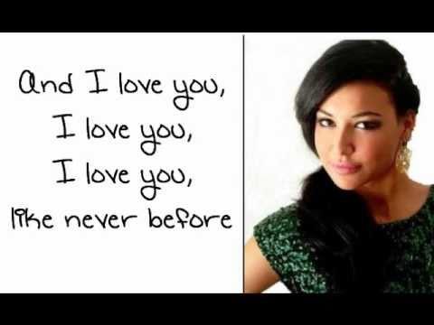 Glee - Songbird (Lyrics)