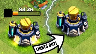 LIGHTS OUT FOREVER...........Clash Of Clans