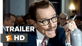 Trumbo Official Trailer #1 (2015) - Bryan Cranston, Diane Lane, Helen Mirren Biopic HD thumbnail