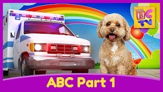 Learn the Alphabet with Lizzy the Dog | ABC Video for Kids Part 1