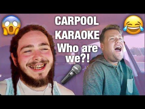 CARPOOL KARAOKE w/ POST MALONE songs!