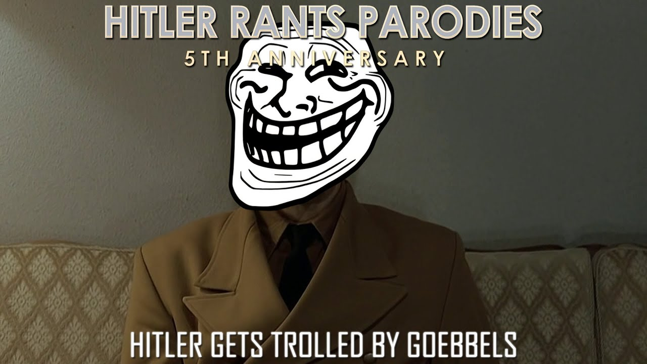Hitler gets trolled by Goebbels