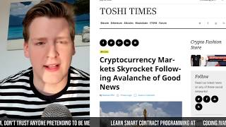 BITCOIN PRICE *GOES VERTICAL* thumbnail