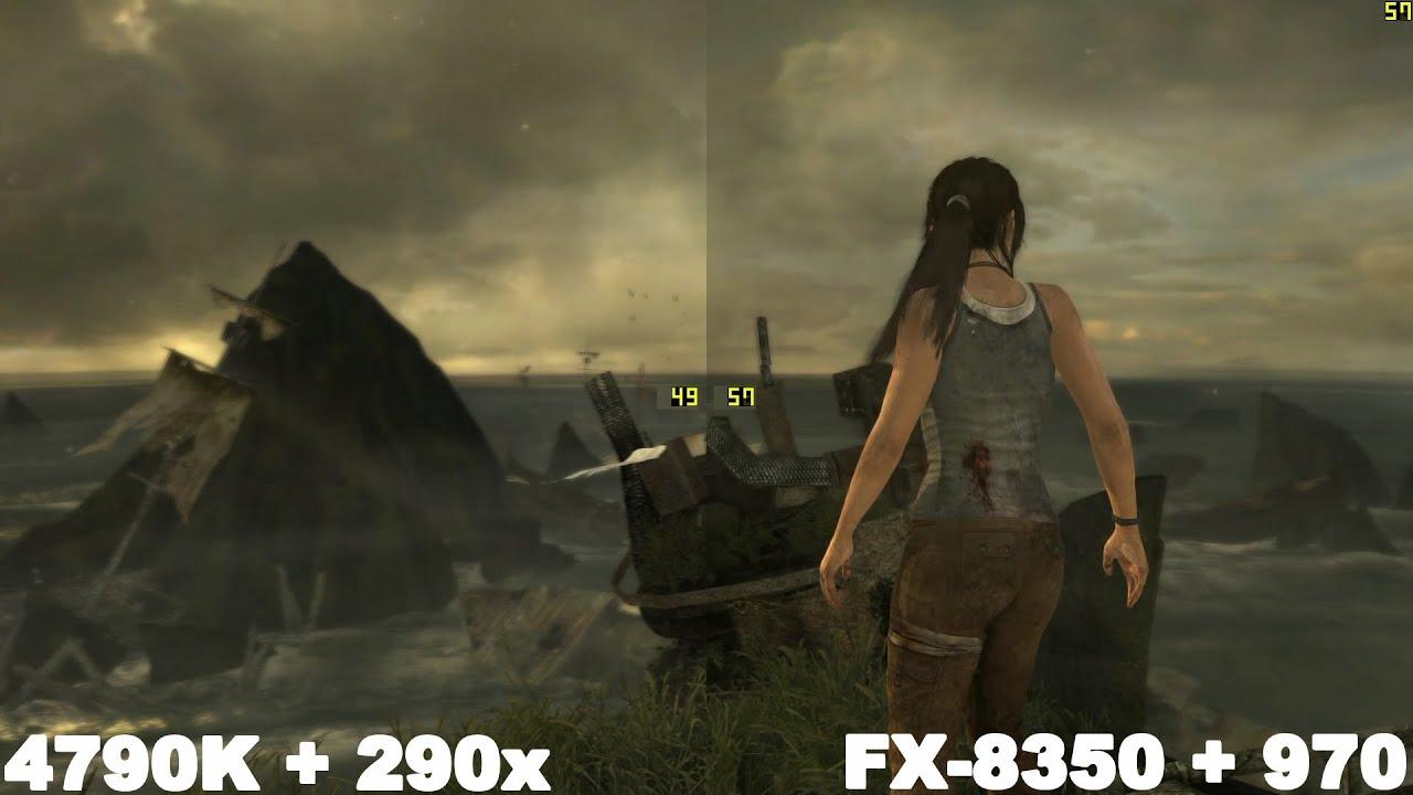 i7 4790K+290x vs FX 8350+970
